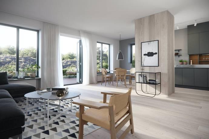 Bild: 3 rum bostadsrätt på Baldersvägen 44-46, Haninge kommun Dalarö
