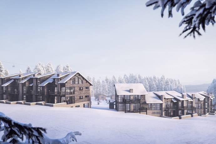 Bild från 303 Lodge - 303 Lodge - Högst upp i Lindvallen med Ski in/Ski out