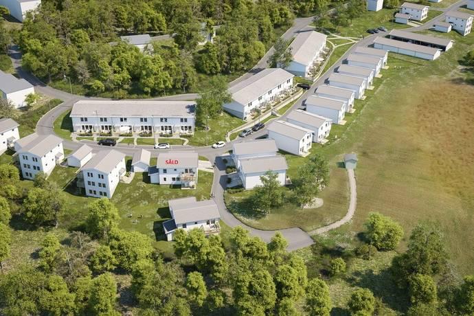 Bild: 6 rum villa på Fruktvägen 34, Karlskrona kommun Gullberna Park