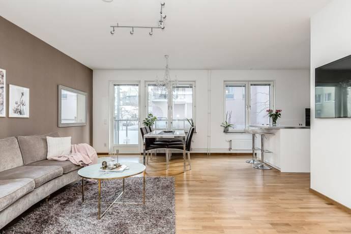 Bild: 3 rum bostadsrätt på Pollargatan 13, Stockholms kommun Hammarby Sjöstad - Henriksdal