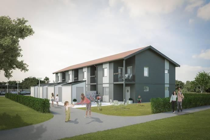 Bild: 4 rum radhus på Artemisvägen 1 A, Norrtälje kommun Västertorp