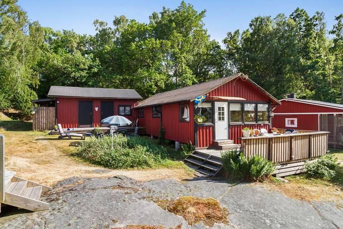 Bild: 3 rum fritidshus på Matvikshamnsvägen 490-100, Karlshamns kommun KARLSHAMNS SKÄRGÅRD