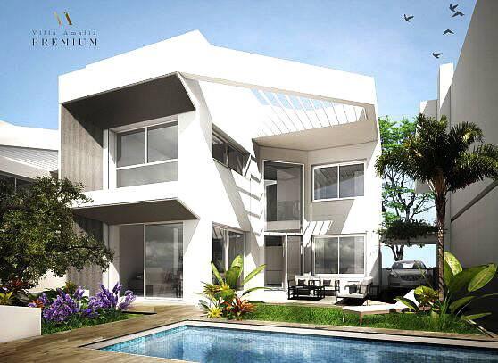 Bild: 4 rum villa på Nyb moderna villor m bra läge i Torrevieja, Spanien Torrevieja stad