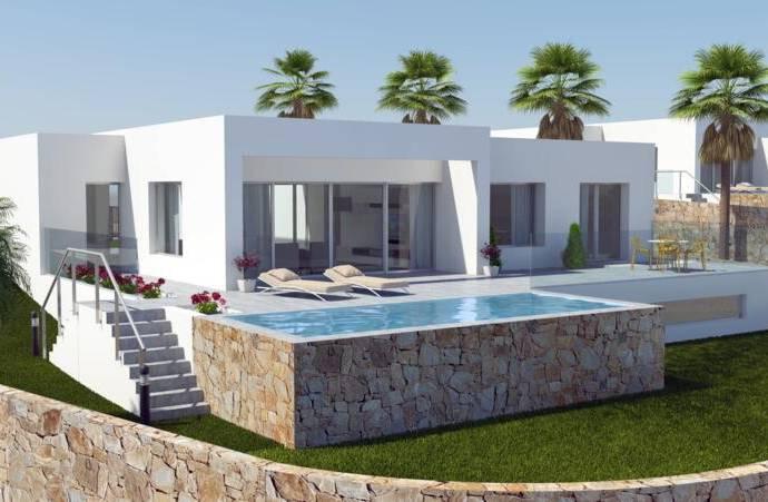 Bild: 4 rum villa på Moderna villor med privat pool vid golfbanna, Spanien Campoamor -  Orihuela Costa
