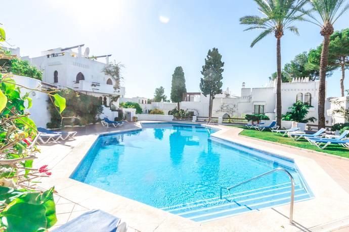 Bild: 3 rum bostadsrätt på Trevlig bostad i centralt belägen community, Spanien Nueva Andalucia