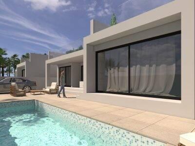 Bild: 4 rum villa på Villa i San Pedro Del Pinatar, Murcia, Spanien San Pedro del Pinatar