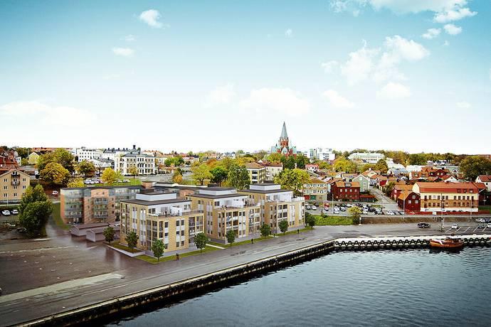 Bild: 4 rum bostadsrätt på Skeppsbrogatan 5B, Västerviks kommun