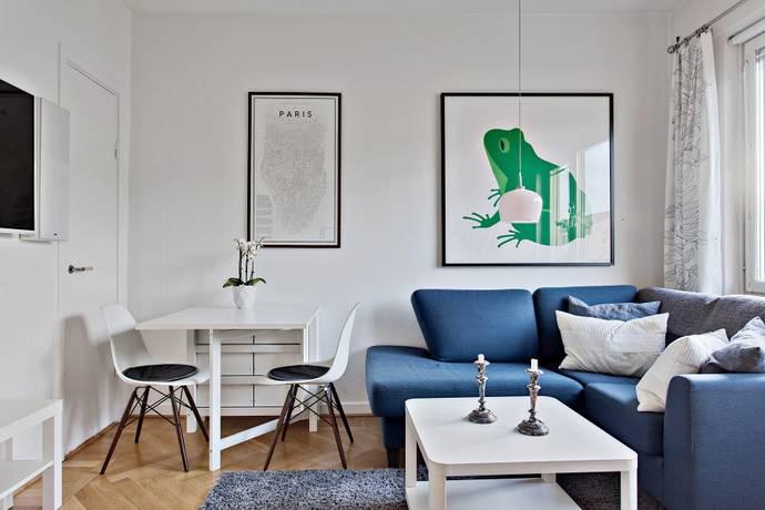 Bild: 1 rum bostadsrätt på Gibraltargatan 66, Göteborgs kommun Johanneberg
