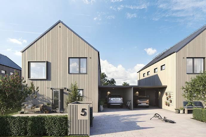 Bild: 5 rum villa på Trönningebjärsvägen 24, Varbergs kommun