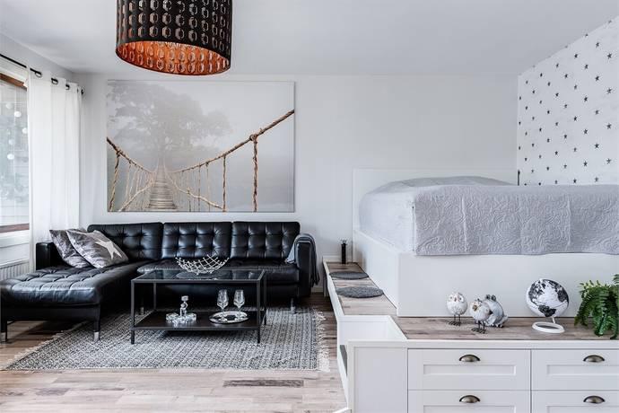 Bild: 1 rum bostadsrätt på Norrbackavägen 28, Oskarshamns kommun Norrtorn
