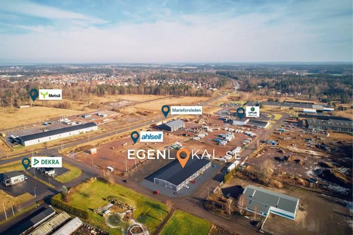 Bild från Västeräng - Friköpta och kostnadseffektiva industriradhus