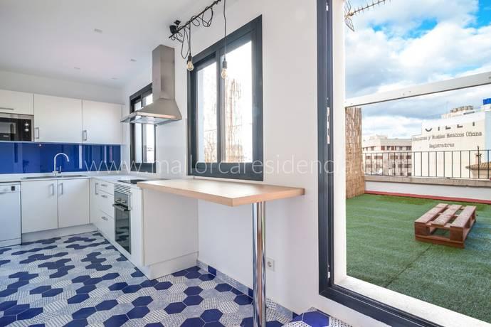 Bild: 3 rum bostadsrätt på Lägenhet i Palma, Mallorca, Spanien