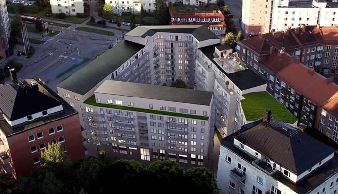 Bild: 2 rum bostadsrätt på Gränsgatan 30, Solna kommun