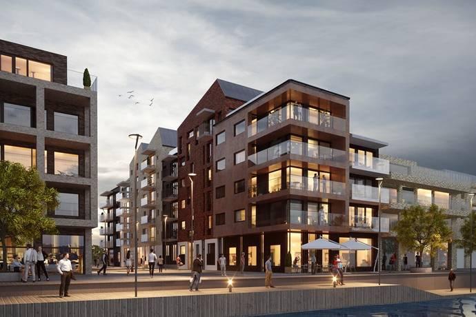 Bild: 4 rum bostadsrätt på Oceankajen, Helsingborgs kommun