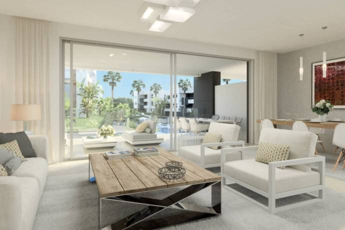 Bild: 5 rum bostadsrätt på Costa del Sol, New Golden Mile, Spanien