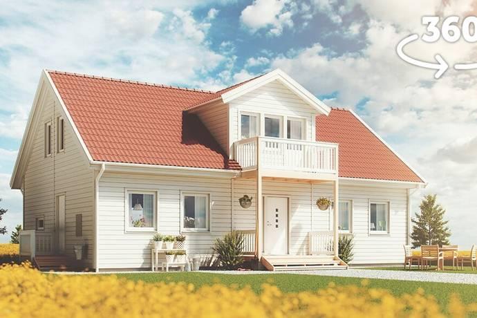 Bild: 6 rum villa på Brån 7, Vännäs kommun Brån