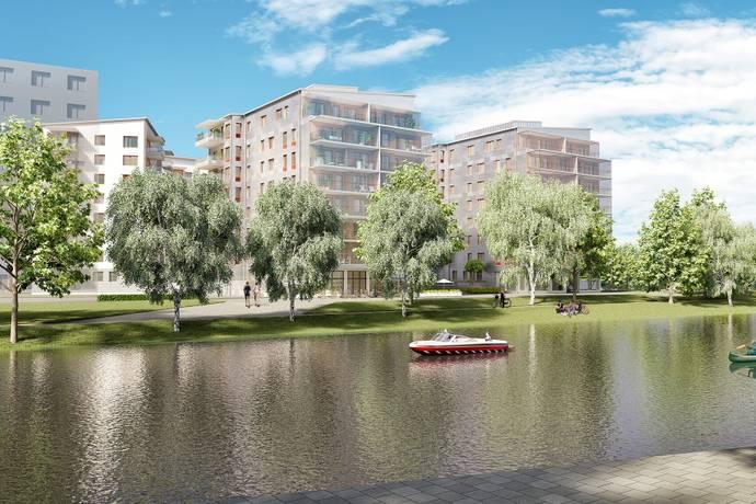 Bild: 3 rum bostadsrätt på Brandmannagatan 7A, Linköpings kommun Centralt Linköping