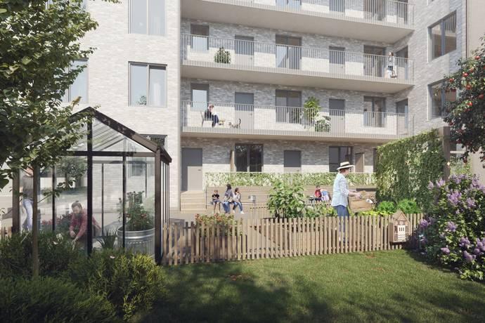 Bild från Brf Stadsgränden