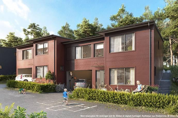 Bild: 5 rum bostadsrätt på Polcirkelvägen 32, Haninge kommun Haninge/Vega