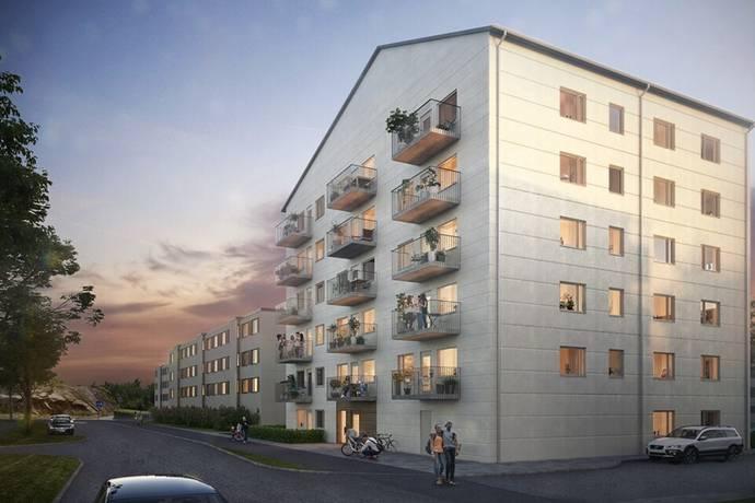 Bild: 3 rum bostadsrätt på Långströmsgatan 26, Göteborgs kommun Centrala Hisingen