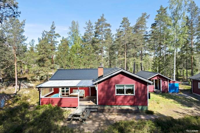 Bild: 4 rum fritidshus på Ängalag tre tomt 70, Västerviks kommun Lilla Rätö