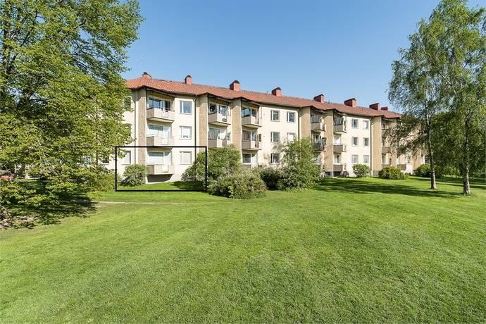 Bild: 1 rum bostadsrätt på Kyrkvärdsvägen 15, Örebro kommun Almby