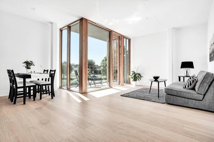 Bild: 3 rum bostadsrätt på Sandhamnsgatan 77, 1 tr, Stockholms kommun Gärdet