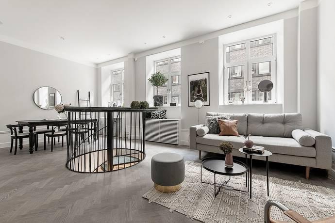 Bild: 3 rum bostadsrätt på Brahegatan 7A, Stockholms kommun Östermalm / City