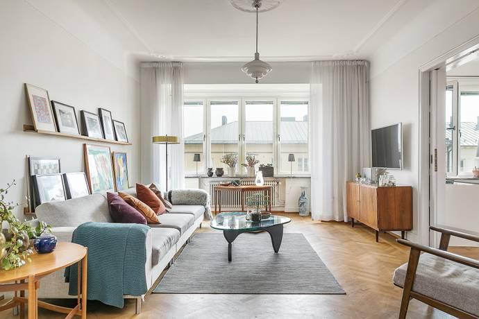 Bild: 4,5 rum bostadsrätt på Regementsgatan 19, Malmö kommun Ribersborg