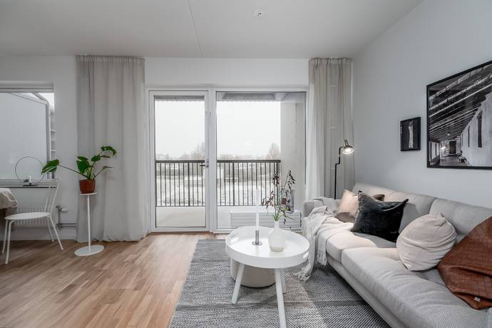 Bild: 1 rum bostadsrätt på Termikgatan 23D, Örebro kommun Södra Ladugårdsängen
