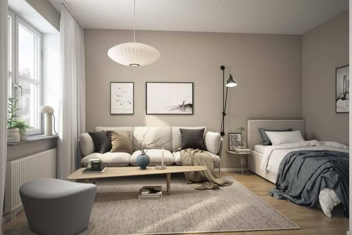 Bild: 1 rum bostadsrätt på Ebbe Lieberathsgatan 14A, Göteborgs kommun Södra centrum