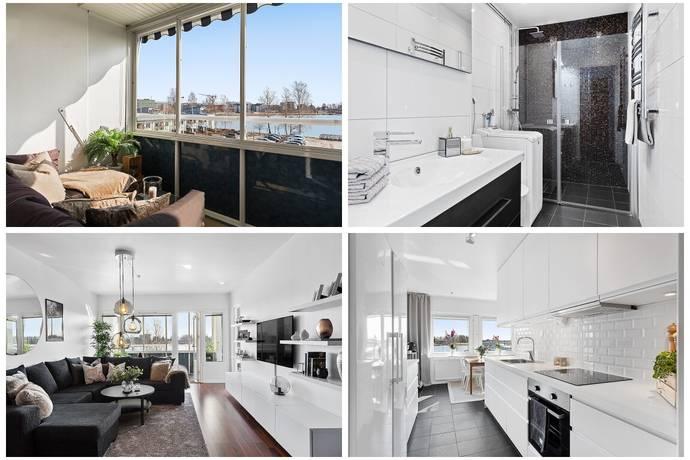 Bild: 3 rum bostadsrätt på Tullhusgatan 21, Karlstads kommun Tullholmsviken/Orrholmen