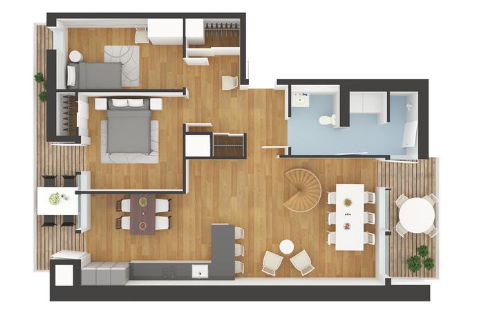 Bild: 5 rum bostadsrätt på Myggan Ericsons gata 6, Göteborgs kommun Örgryte