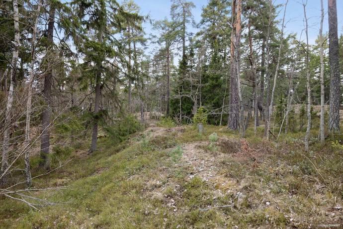 Bild: tomt på Allfadersvägen 10, Huddinge kommun Solgård