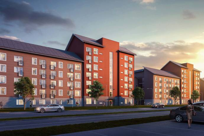 Bild: 2 rum bostadsrätt på Fyrklöversgatan 13, Göteborgs kommun Centrala Hisingen