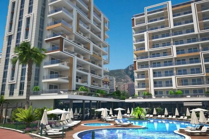 Bild: bostadsrätt på Tosmur Seaview Apartments id 2583, Turkiet Tosmur