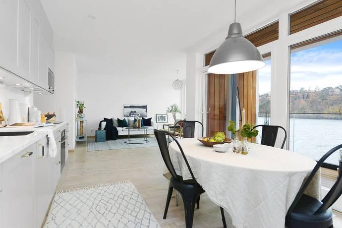 Bild: 4 rum bostadsrätt på Ekensbergskajen 1, vån 1, Stockholms kommun Hägersten-Liljeholmen Gröndal