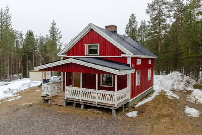 Bild: 5 rum villa på Kalixvägen 105, Gällivare kommun Hakkas