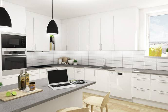 Bild: 4 rum bostadsrätt på Maratonvägen 2, Halmstads kommun