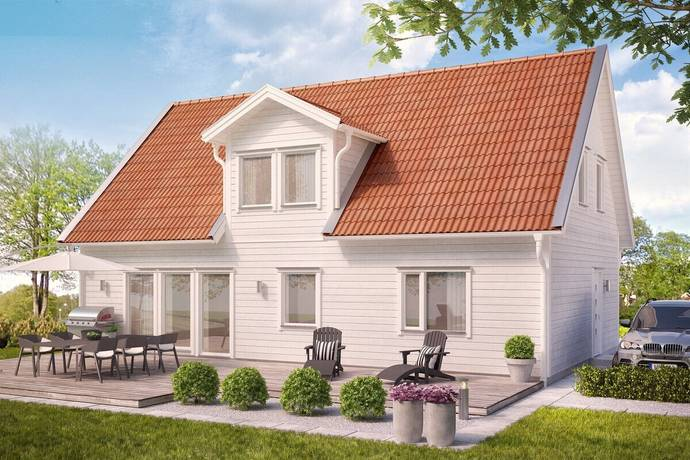 Bild: 3 rum villa på Holmbro Vänge, Uppsala kommun