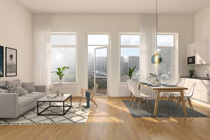 Bild: 3 rum bostadsrätt på Anna Branzells Gata 10, Göteborgs kommun Kviberg
