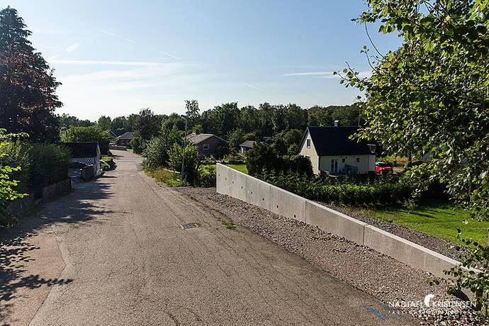 Bild: tomt på Tranvägen 21, Båstads kommun Grevie-Båstad