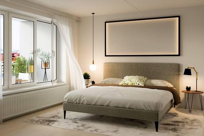 Bild: 2 rum bostadsrätt på Lövgatan 55, vån 3 av 7, Solna kommun Solna - Näckrosen