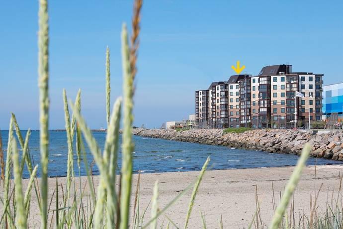 Bild från Skrea Strand - Bacchus hus 2, Falkenbergs nya stadsdel, med havet som granne!