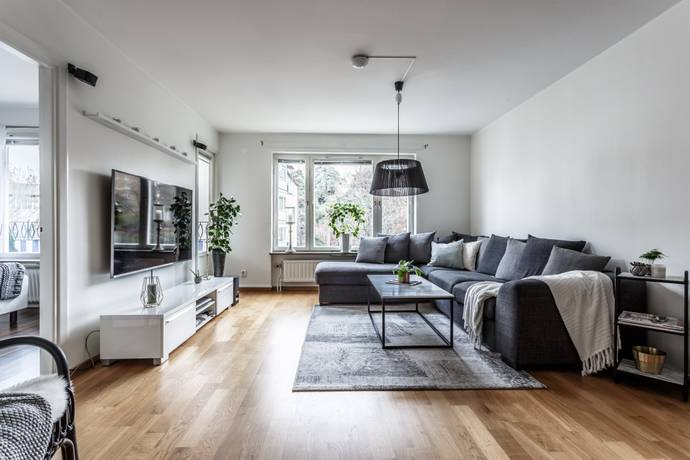 Bild: 3 rum bostadsrätt på Backvägen 3, 5 tr, Solna kommun Råsunda