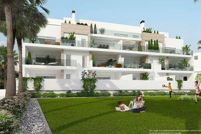Bild: 3 rum bostadsrätt på Nytt och modernt med generös terrass, Spanien Villamartin, Orihuela, Costa Blanca