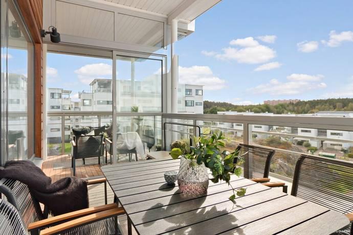 Bild: 4 rum bostadsrätt på Norra Hamnpromenaden 3, 5tr, Lidingö kommun Gåshaga