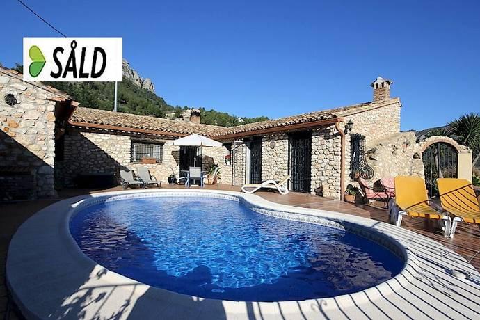 Bild: 3 rum villa på Vackert stenhus på landet, Spanien COSTA BLANCA - BOLULLA