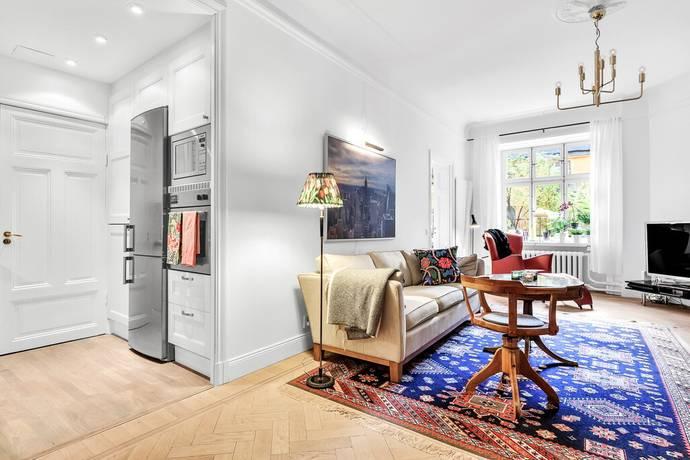 Bild: 2 rum bostadsrätt på Grev Magnigatan 15 B, Stockholms kommun Östermalm