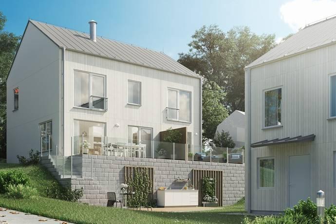 Bild: 6 rum villa på Rödkindavägen 13A, nr 7, Stockholms kommun Farsta Strand